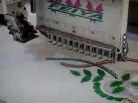 76c2822aebeb2 مكينه تطريز تغمل كليا بالكمبيوتر متعدده الاستعمالات - YouTube