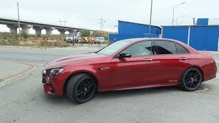 2018 Mercedes AMG E63 S 4MATIC+ BRUTAL Drive Review Sound Acceleration Exhaust