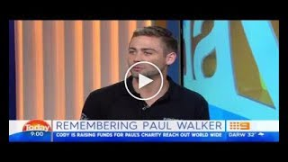 cody walker talks about paul walker and fast furious 9