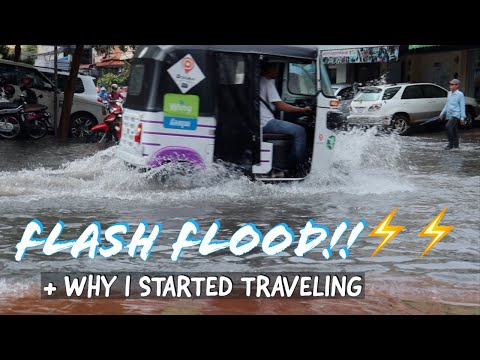 FLASH FLOODING In Cambodia! + Why I decided to travel the world..
