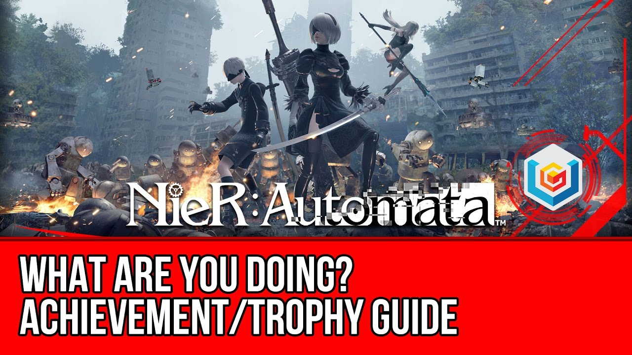 you automata are nier What doing