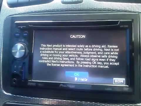 pioneer avic f900bt uk firmware 3 021 boot up time youtube rh youtube com pioneer avic f900bt installation manual manuale d'uso pioneer avic f900bt