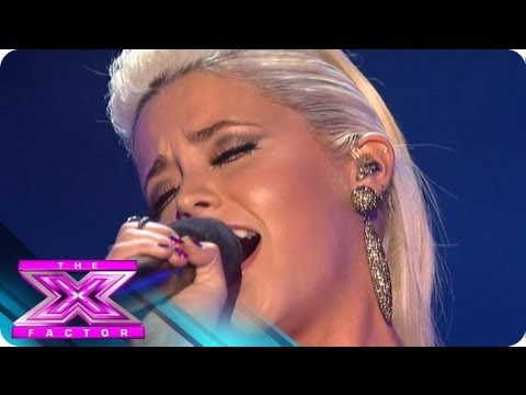 CeCe Frey Sings for Survival -  THE X FACTOR USA 2012
