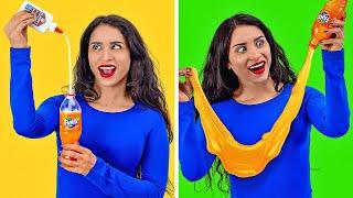 TikTok-ТРЮКИ И ХИТРОСТИ || Вирусные челленджи с едой от 123 GO!