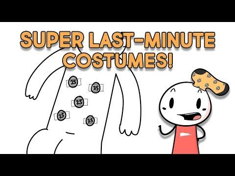 10 SUPER Last-Minute Halloween Costume Ideas