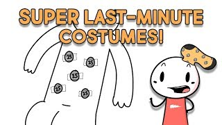 10 SUPER Last-Minute Halloween Costume Ideas