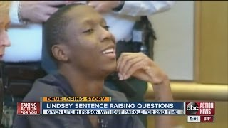Lindsey re-sentenced to life in prison