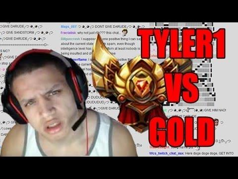 TYLER1 PLACEMENT MATCH [GOLD ELO] FULL GAME // DRAVEN VS KALISTA