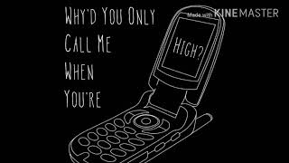 Why'd You Only Call Me When You're High? || 8D Audio