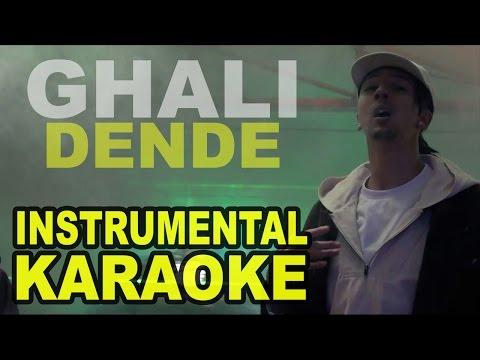 Ghali: DENDE (Karaoke - Instrumental)
