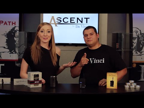 The Davinci Ascent & DaVinci Classic Handheld Vaporizer