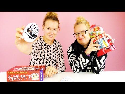 Weihnachts EDITION Gregs Tagebuch Eiermatsch mit Eva & Kathi | DIY Inspiration Challenge