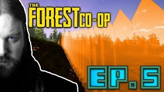 The Forest (Co-Op) - Ep. 5   Defensive Walls (Ft. Bigmitch256)