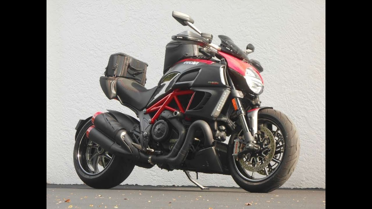 2011 ducati diavel red carbon ride video gulf coast motorcycles