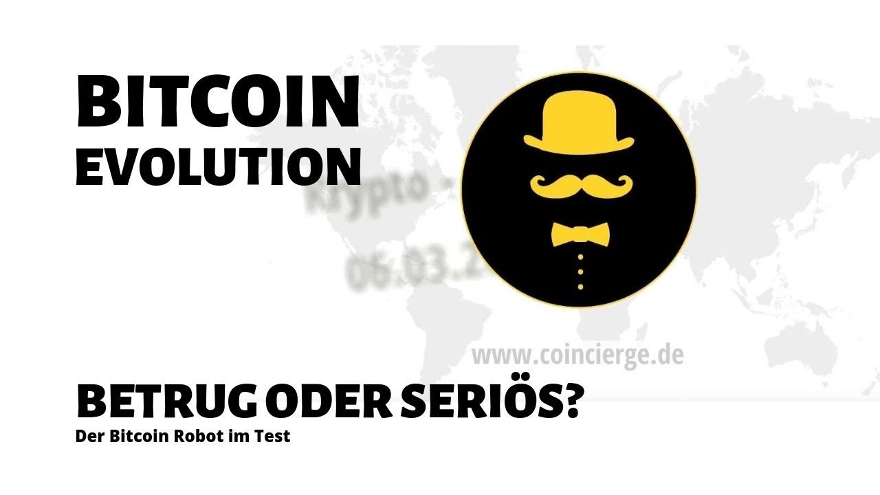 Bitcoin Evolution Betrug