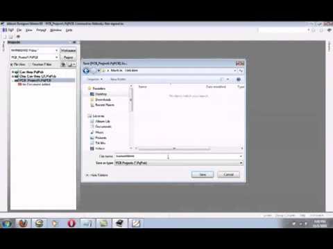 Hướng dẫn sử dụng phần mềm Altium Designer 1