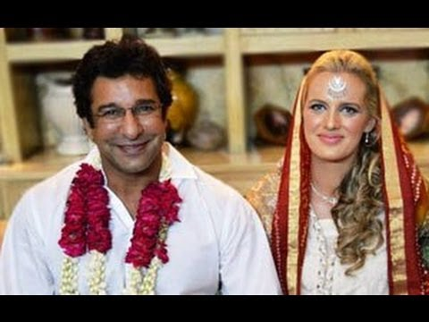Cricketer Wasim Akram Married His Friend Shaniera Thompson