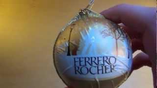 Ferrero Rocher Weihnachtsbaumkugel Christmas Glitter Ball