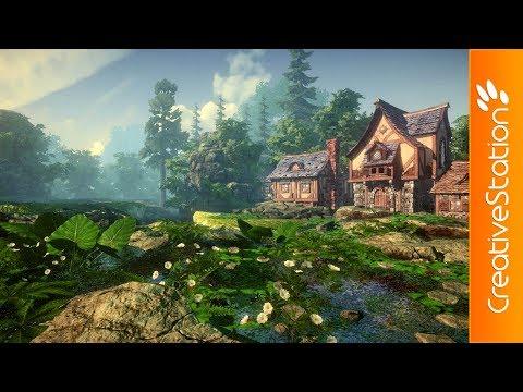 Game Environment - 3D Speed art (#Unity)   CreativeStation