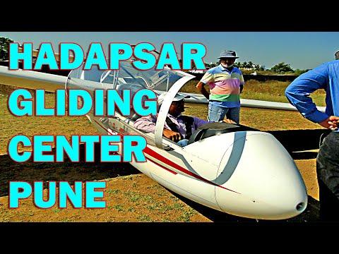 Hadapsar Pune Gliding Center full take off till landing Joy ride of Glider Flying Alertcitizen