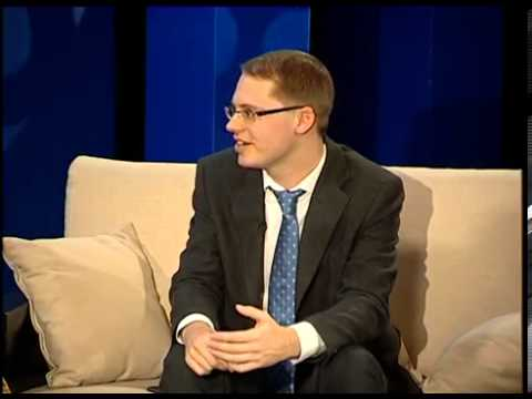 "Gabriel McGuire on the TV program ""Keshki shai"""