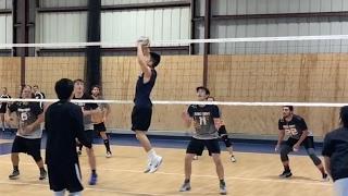 Daniel Yang SETTER Highlights - NCVA 2017 League Qualifier Volleyball
