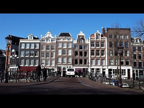 walking canals of Amsterdam