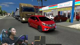 Jalan-Jalan ke PEKALONGAN Pake Honda Jazz #2 ○ ETS2 MOD INDONESIA ○