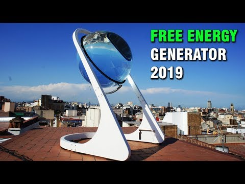 FREE ENERGY GENERATOR 2019, from Sun and Moon, Amazing!!!!!