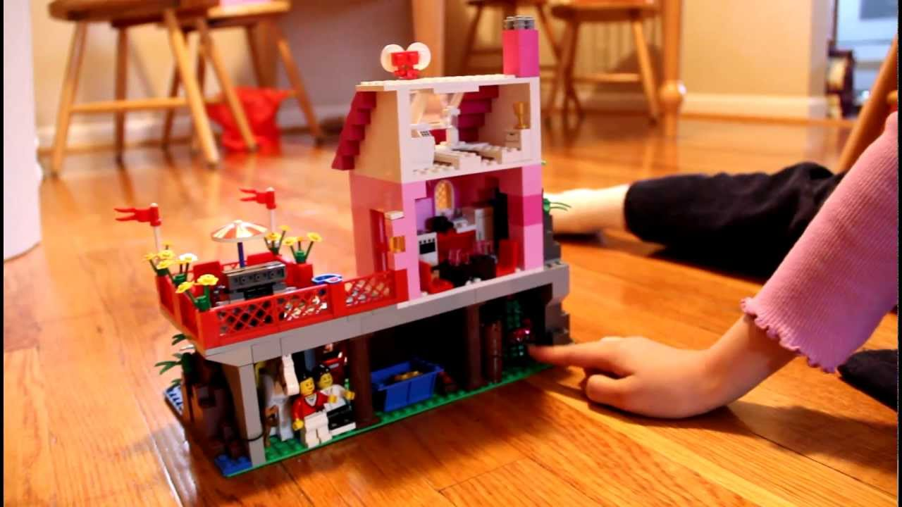 Legotown Island Dream House Miau0027s Tour   Pink Lego!   Lego Town Tour    YouTube Part 96