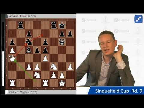Carlsen - Aronian, Sinquefield Cup Round 9: Chess Analysis