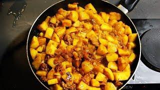 Даже не думал, что так картошку мало кто готовит. Картошка с тушёнкой