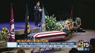Phoenix officer John Hobbs laid to rest