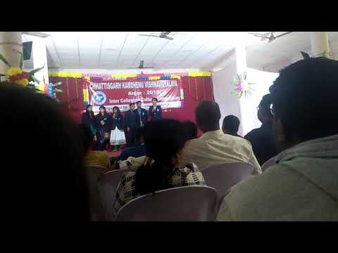 Inter college compitition 2018 college of veterinary science and A. H.  Ajora durg  c. g.