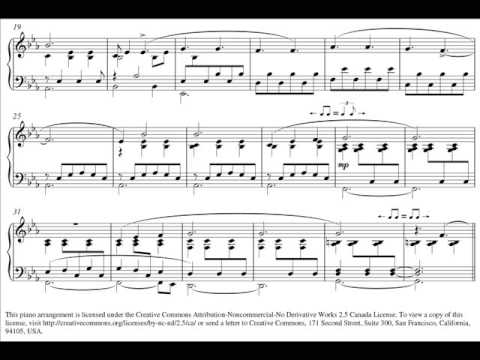 Vienna (The Fray) - Original Piano Arrangement