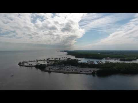 Matheson Hammock Park from the Air