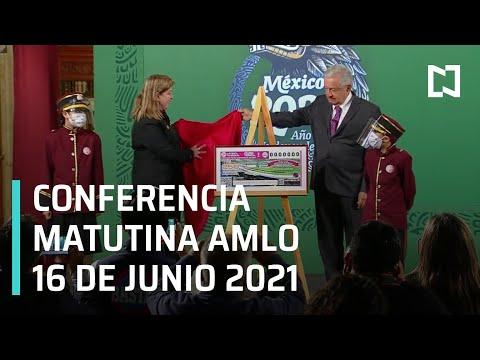 AMLO Conferencia Hoy / 16 de Junio 2021