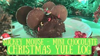Chef Dave  Mickey Mouse Mini Xmas Chocolate Yule Logs  Walt Disney World Inspired  2017