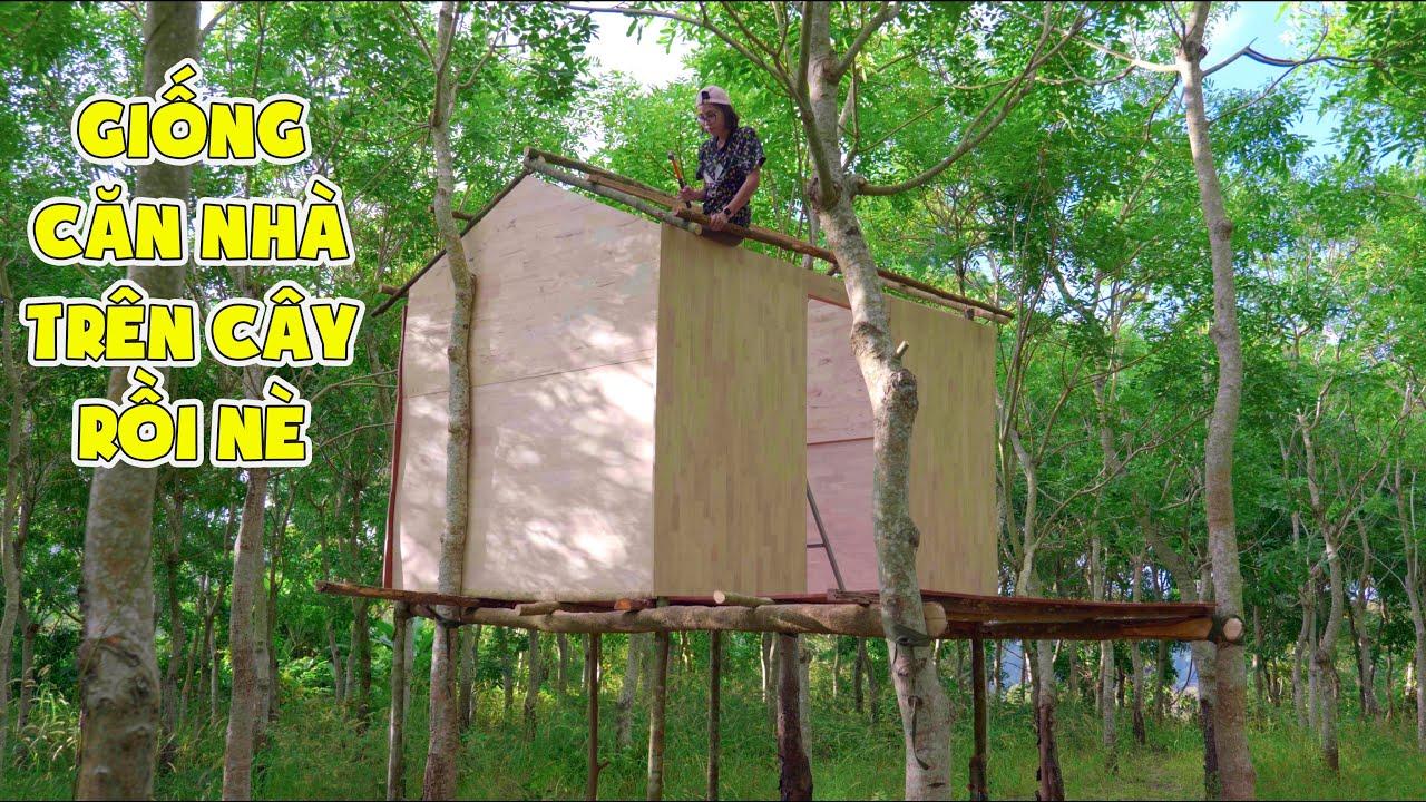 Ngày 2 Làm Nhà Trên Cây Trong Rừng