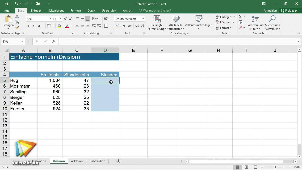 Excel Formeln $ Zeichen