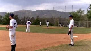 15 year old pitcher 90 MPH 2-seam fastball. Breaking bats, like Yordano Ventura
