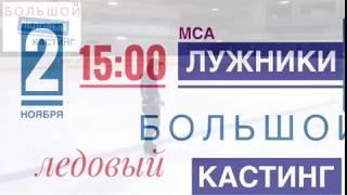 Илья Авербух устраивает кастинг фигуристов в свой ледовый коллектив.