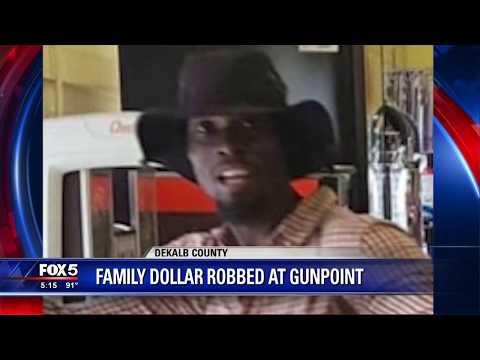 DeKalb County Family Dollar Store Armed Robbery