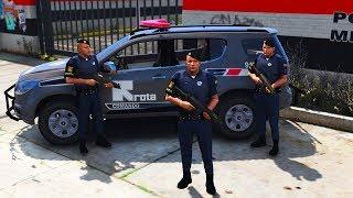 GTA V : VIDA POLICIAL | ROTA NA RUA. EP. 220 (GTA 5 MODS LSPDFR)