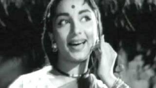 Chanda Jaa Re Jaa - Lata Mangeshkar, Sadhana, Manmauji Song