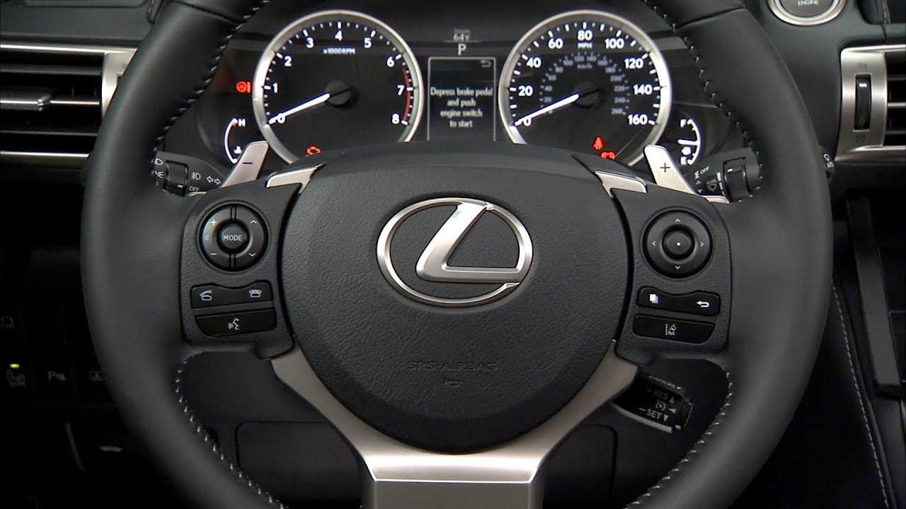 2014 Lexus IS 250 INTERIOR