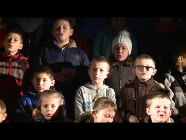 Kolęda ''Cicha noc'' w wykonaniu dzieci ze Szkoły Podstawowej w Woli Jasienickiej