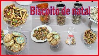 Como Decorar biscoitos prontos para o Natal