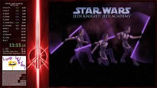 [WR] 36:47 SW:JK - Jedi Academy All Levels Speedrun