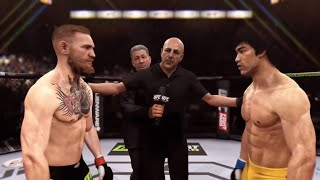 UFC3 conor mcgregor vs bruce Lee